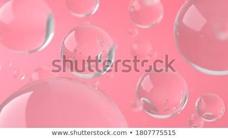 Creative fashion with soap ball Stock photo © alphaspirit
