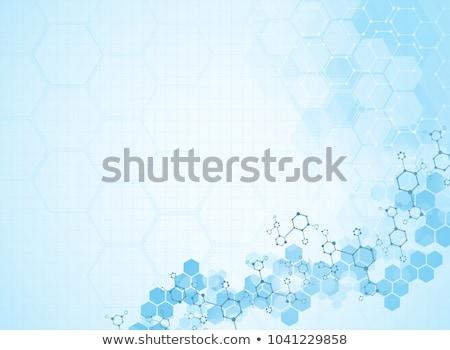 vector · abstract · moleculair · medische · onderzoek · rapporten - stockfoto © orson