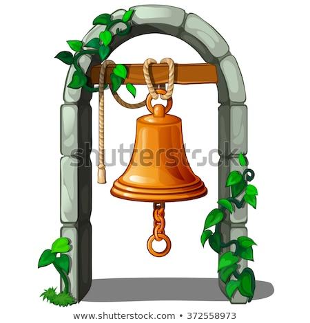 Old brass bells stock photo © jordanrusev