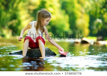megnyugtató · park · nyáridő · fű · háttér · szépség - stock fotó © Sportactive