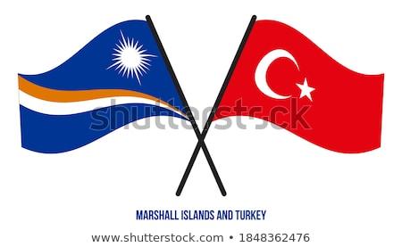 Turkije eilanden vlaggen puzzel geïsoleerd witte Stockfoto © Istanbul2009