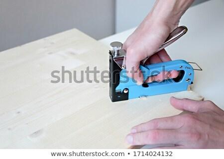 Stock photo: Industrial stapler