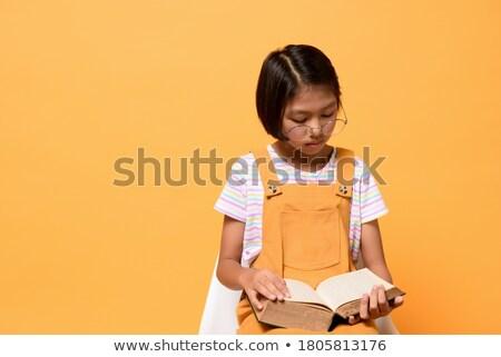 студию · портрет · ребенка · мальчика · полотенце · лице - Сток-фото © funix