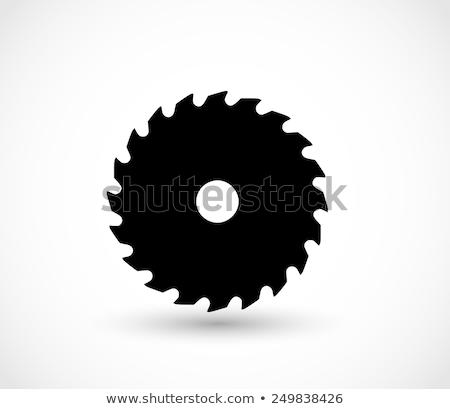 vector illustration of wood saws stock photo © expressvectors