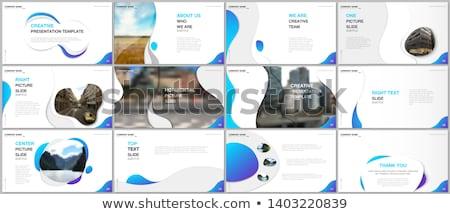 Colorido Slide ilustración blanco ninos nino Foto stock © bluering