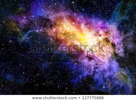 Derin uzay boşluğu galaksi Yıldız nebula Stok fotoğraf © clearviewstock