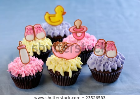 cake for baptism for baby female stock photo © adrenalina