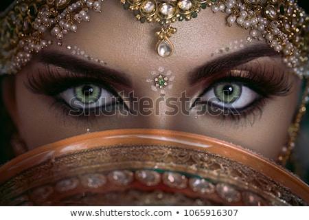 Arabski kobieta ilustracja dance podróży asian Zdjęcia stock © adrenalina