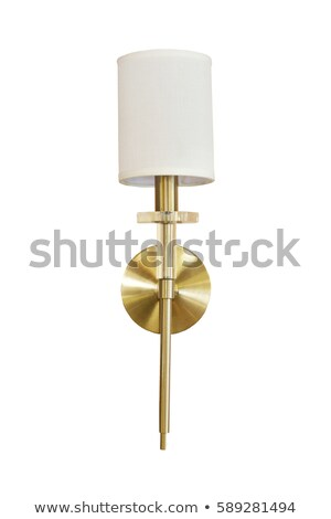 élégante mur lampe vintage design fenêtre Photo stock © IvicaNS