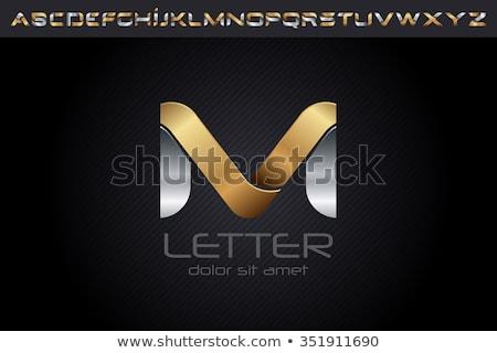 Alphabet  M is for magnet Stock photo © bluering