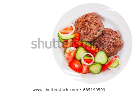 курица-гриль · свинина · все · плевать · продовольствие - Сток-фото © digifoodstock