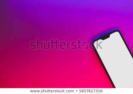 általános termék azonnali könnyű megoldás piros Stock fotó © kentoh