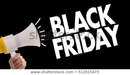 25 November 2016 Black Friday sale - time shopping Stock photo © orensila