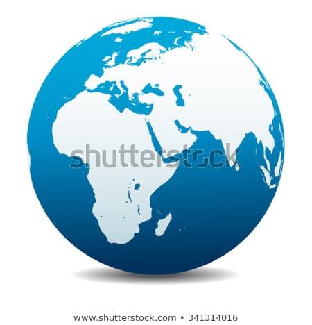 ソマリア 世界中 赤 単純な 目に見える 国 ストックフォト © Harlekino