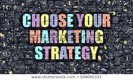 Choose Your Marketing Strategy - Business Concept. Stock photo © tashatuvango