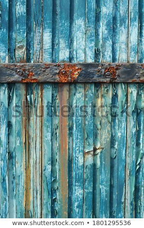 Teal and orange grunge rusty metal surface texture Stock photo © stevanovicigor