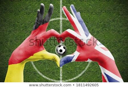 sports fan loves UK Stock photo © rogistok
