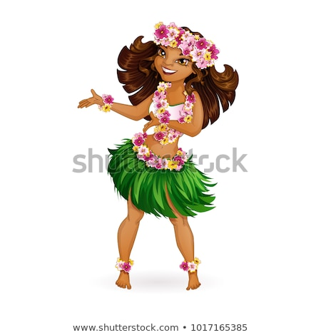 Сток-фото: красивой · танцовщицы · женщину · цветок · девушки · Sexy
