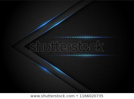 azul · tecnologia · metal · polido · concêntrico - foto stock © molaruso
