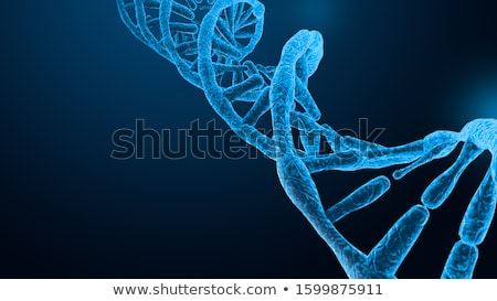 3d illustration of abstract DNA helix in deep biological space. Stock photo © anadmist