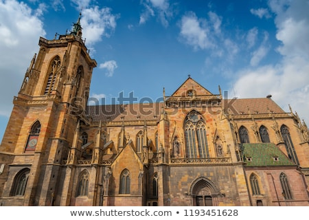 St Martin's Church in Colmar Stock photo © benkrut