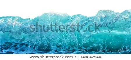 mavi · su · yüzeyi · doku · alt · dağ · nehir - stok fotoğraf © boggy