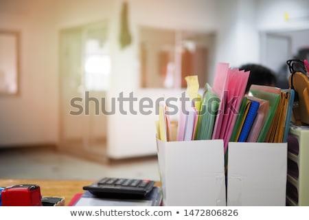 Organized Not Unorganized Concept Stock photo © ivelin