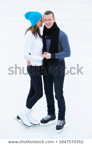 homme · blanche · tshirt · design · neige · Teen - photo stock © andreypopov
