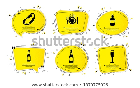 Winery Refreshing Champagne Merlot Burgundy Vector Stock photo © robuart
