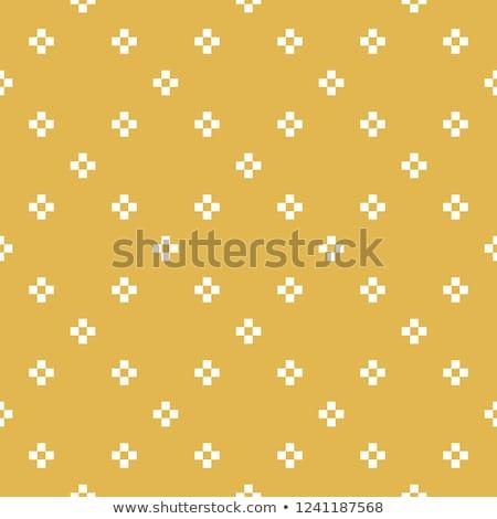 tiny simple floral seamless simple vector pattern stock photo © yopixart