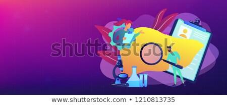 баннер врачи огромный печень Сток-фото © RAStudio