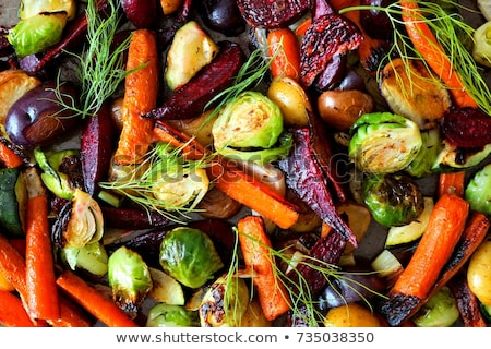 Fresh Roasting Vegetables Stock photo © THP