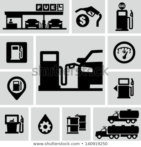 Set of service station icons Stock photo © angelp