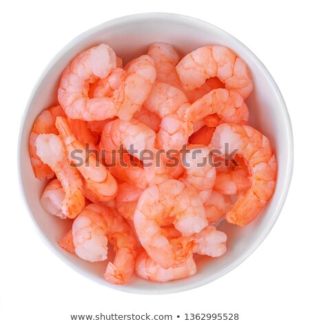 Steamed tiger shrimps Stock photo © karandaev