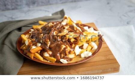 Poutine Fries Stock photo © Lightsource