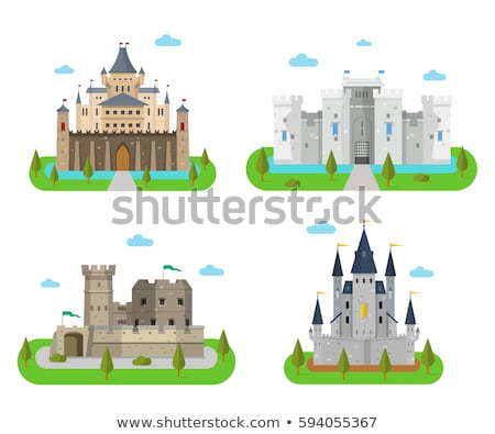 vector castle fortress palace stock photo © vetrakori