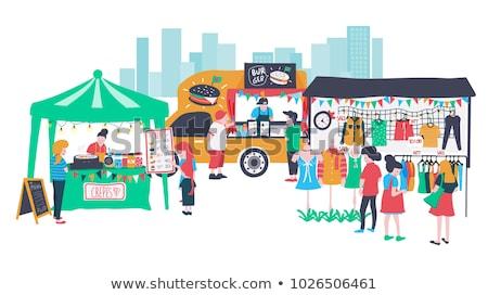 fashion accessories in a street market stock photo © nito