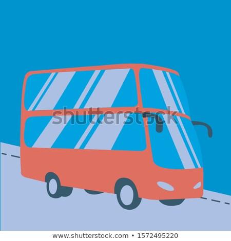 bus · vecteur · publicité · entreprise · identité - photo stock © ipajoel