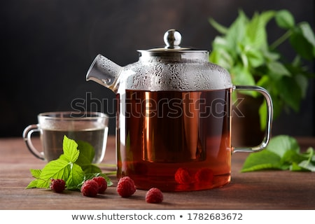 Herbal and fruit tea Stock photo © karandaev
