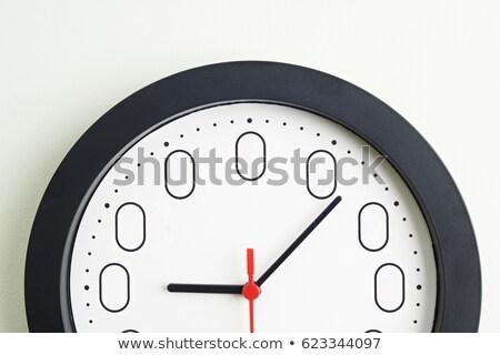 Cero hora reloj 3d aislado blanco Foto stock © montego