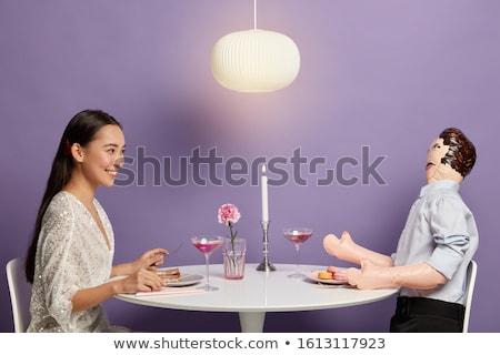 Relação solidão casal masculino feminino Foto stock © Lightsource