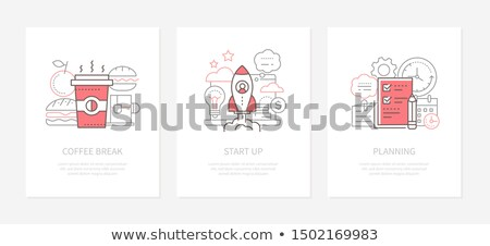 startup · komputera · projektu · podpisania - zdjęcia stock © decorwithme