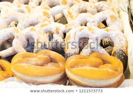 krapfen waem sweet cake stock photo © neirfy