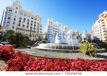 Valencia Town Hall, Spain Stock photo © borisb17