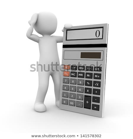 counting and adding task with cartoon characters stock photo © izakowski