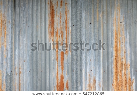 rust on a galvanize sheet stock photo © jomphong