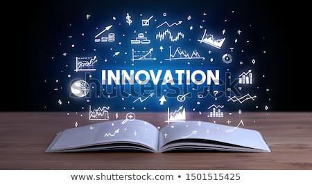 бизнеса из открытой книгой подготовки Creative Сток-фото © ra2studio