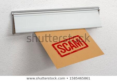 письме жульничество почты Дать судно Сток-фото © Zerbor