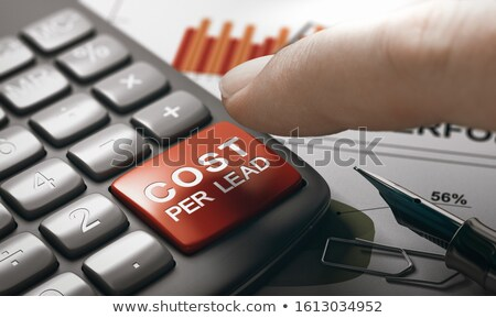 Online Marketing Concept. Calculate Cost Per Lead. Stock photo © olivier_le_moal