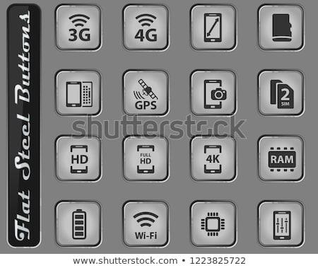 Smartphone mobiles téléphone portable affaires téléphone Photo stock © ayaxmr